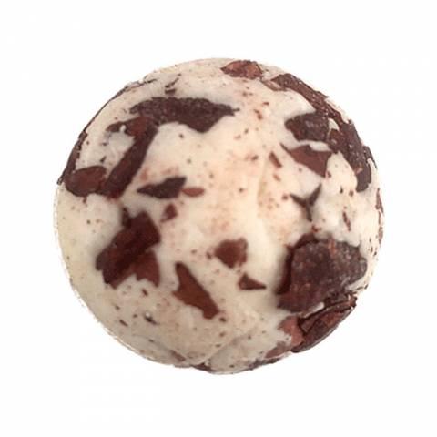 Badekugel Schokolade
